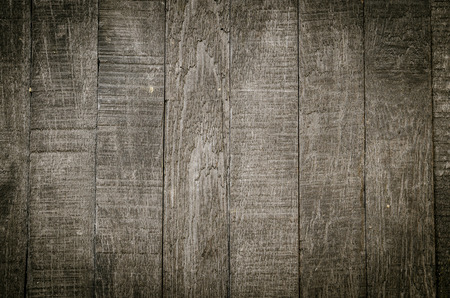 grunge border: old wood background Stock Photo