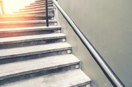 escalera: la escalera de la vendimia Foto de archivo