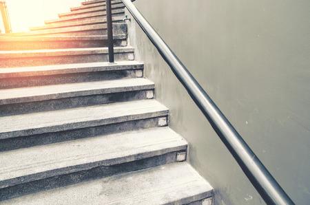 wooden stairs: vintage stair