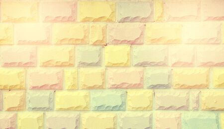 brickwall: color vintage pastel brickwall