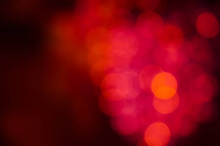 light red: blurred abstract bokeh background , christmas new year