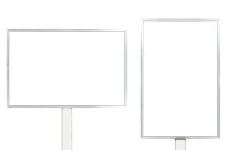 commercial painting: Empty billboards