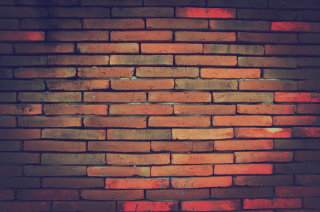 fulvous: old brickwall background