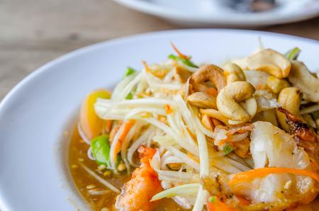 tam: som tam thai food Stock Photo