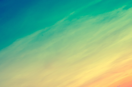 colorful sky background