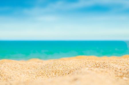 Sand Strand Sommer Hintergrund Standard-Bild