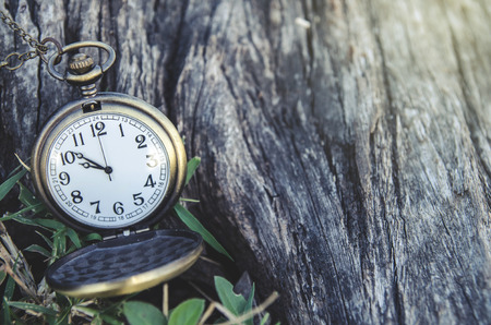 12 o clock: vintage pocket watch