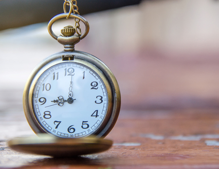 nine year old: vintage pocket watch