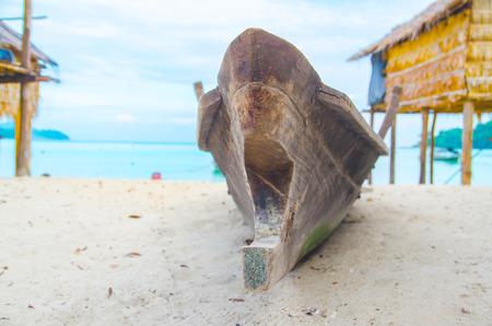 mococa: The boat of Mo Gan community in Surin Island
