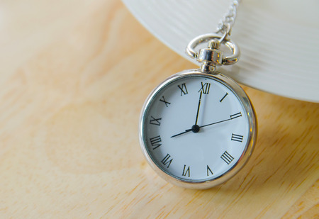 nine years old: vintage pocket watch