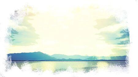 blurre rocznika wsi Zdjęcie Seryjne