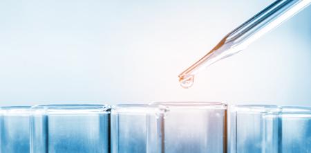 Tubes à essai de laboratoire scientifique, équipement de laboratoire