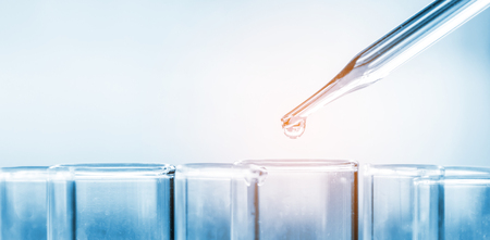 Wissenschaftslabor Reagenzgläser, Laborgeräte