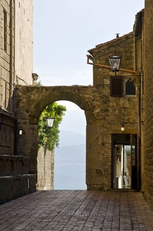 montalcino: The streets of Montalcino