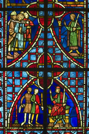 church window: Church Window Stock Photo