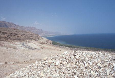 Western shore of the dead sea, Israel