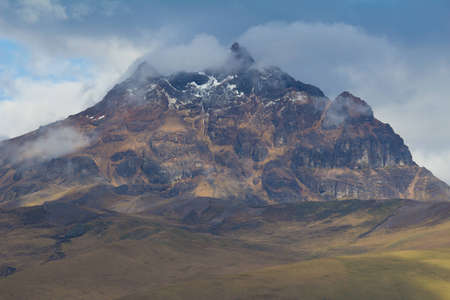 Mountain peak in Cotopaxi National Park, Ecuador Stock Photo - 12862020