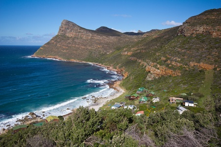 Scenery along drive to Cape Point, Table Mountain National Park, South Africa Stock Photo - 17306209