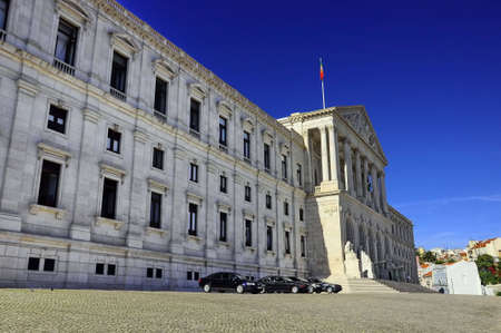 dc: president, house, dc, portugal,  white, exterior, government, building Stock Photo