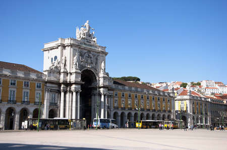 Portugal tram road transport history of Lisbon city photo