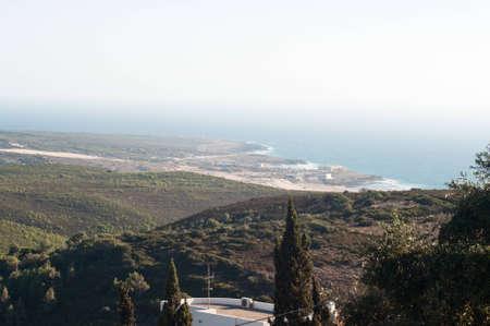 Portugal montagnes paysage nature ciel de Lisbonne nature Banque d'images