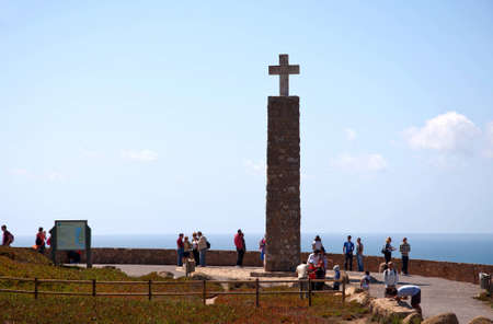 rescue west: Portugal cross the mountain height of tourist landscape stones