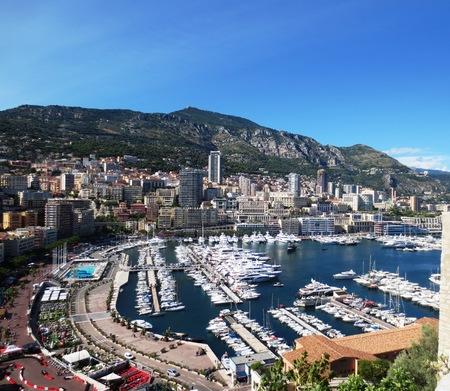 Principality of Monaco, Monaco- France Reklamní fotografie