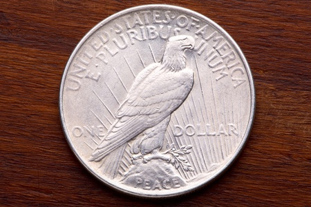 American 1922  Peace Silver Dollar  photo