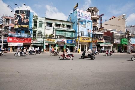 min: Saigon-October 14 Saigon(Ho Chi Min City),populated by more than 9 million people,is the most populous metropolitan area in Vietnam. October 14, 2009 Saigon,Vietnam. Editorial
