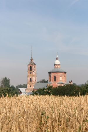 Russian orthodox church in Suzdal photo