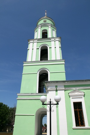 Church in Kozelsk Russia photo