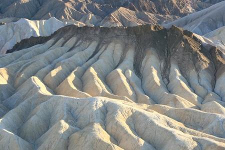 Zabriskie Point Death Valley California Stock Photo