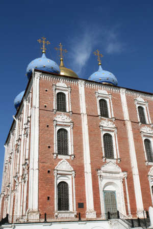 Uspensky cathedral in Ryazan Russia photo