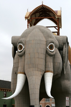 Lucy the Margate elephant Atlantic City New Jersey photo