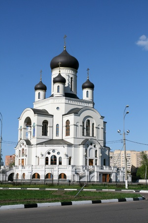 Church in Mytischy Russia photo