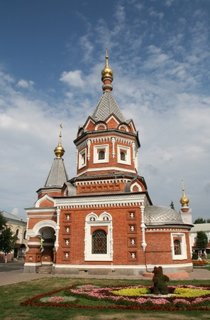 Church in Yaroslavl Russia photo
