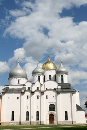 Saint Sophia cathedral Great Novgorod Russia photo