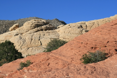 Rocks of Red Rock Canyon Nevada photo