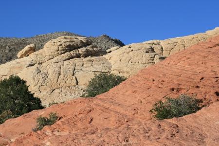 Rocks of Red Rock Canyon Nevada photo