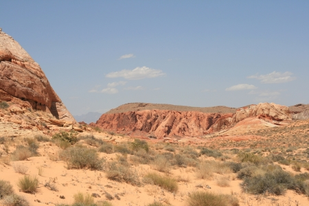 Rocks in Valley of Fire State Park Nevada Stock Photo - 14584113