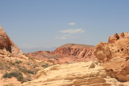 Rocks in Valley of Fire State Park Nevada photo