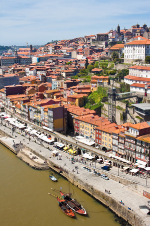 View of Porto from the Dom Luis Bridge