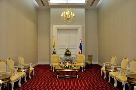 bilateral: Bilateral meeting room between Myanmar and Thailand