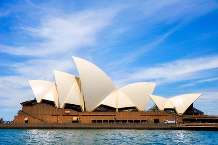 Sydney Opera House, New South Wales, Australien: Blue Sky