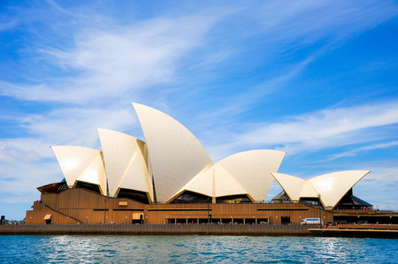 nsw: Sydney Opera House, NSW, Australia : Blue Sky Editorial