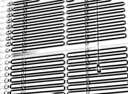 blinds: Window blinds Stock Photo