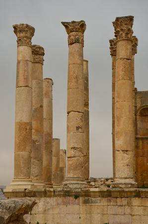 zeus: The Temple of Zeus  Jerash, Jordan