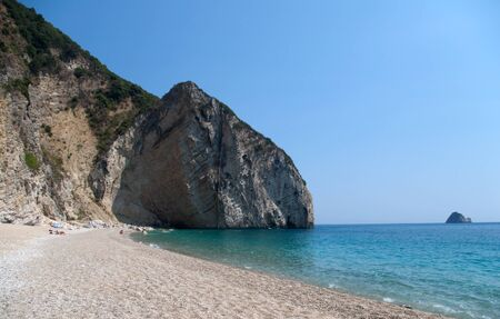 greece granite: Paradisos beach, Chomi, Greece