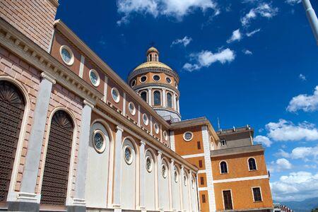Shrine of Our Lady of Tindari, Sicily, Italy  Banco de Imagens