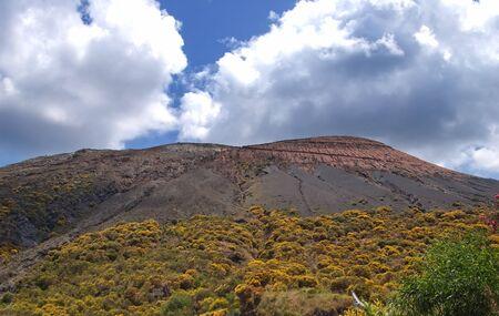 Vulcano - active volcano, Lipari, Sicily, Italy photo